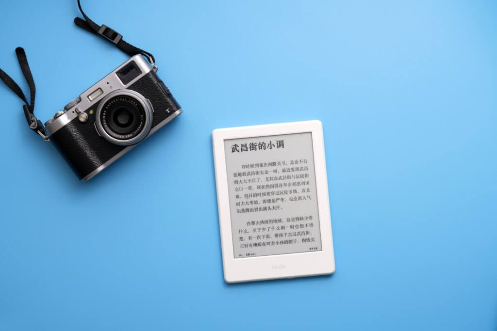 Kindleとカメラ