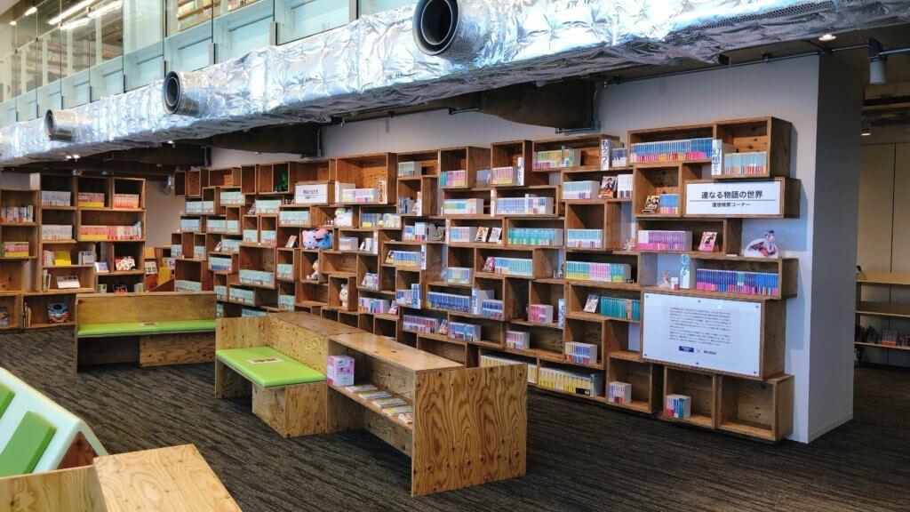 マンガ・ラノベ図書館 1F