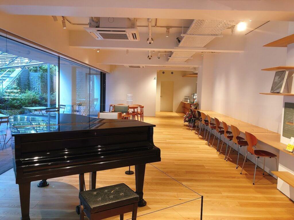 「ピーターキャット」で演奏に使われていたピアノ