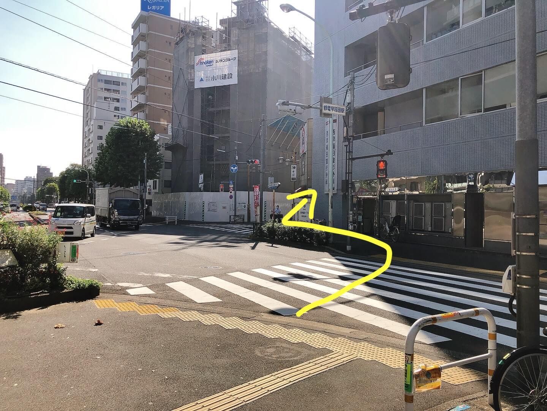 村上春樹ライブラリーへのアクセス① 都電荒川線早稲田駅の前