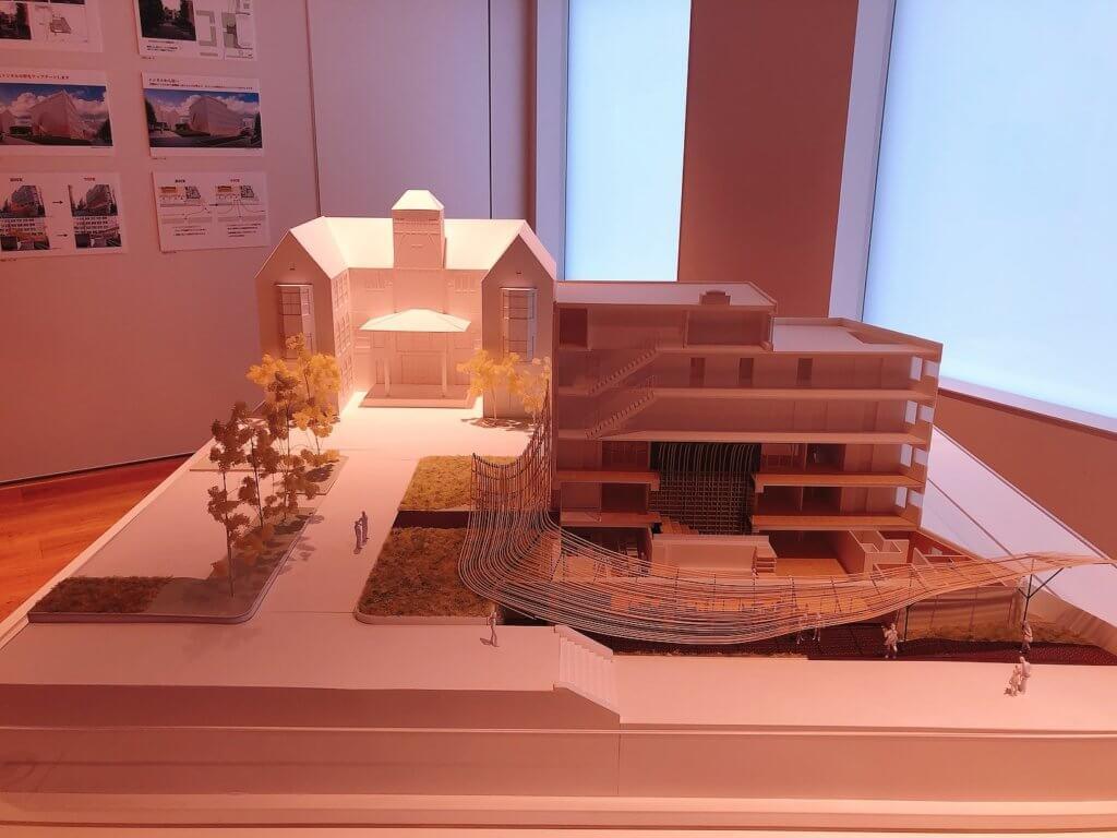 展示室「建築のなかの文学、文学のなかの建築」